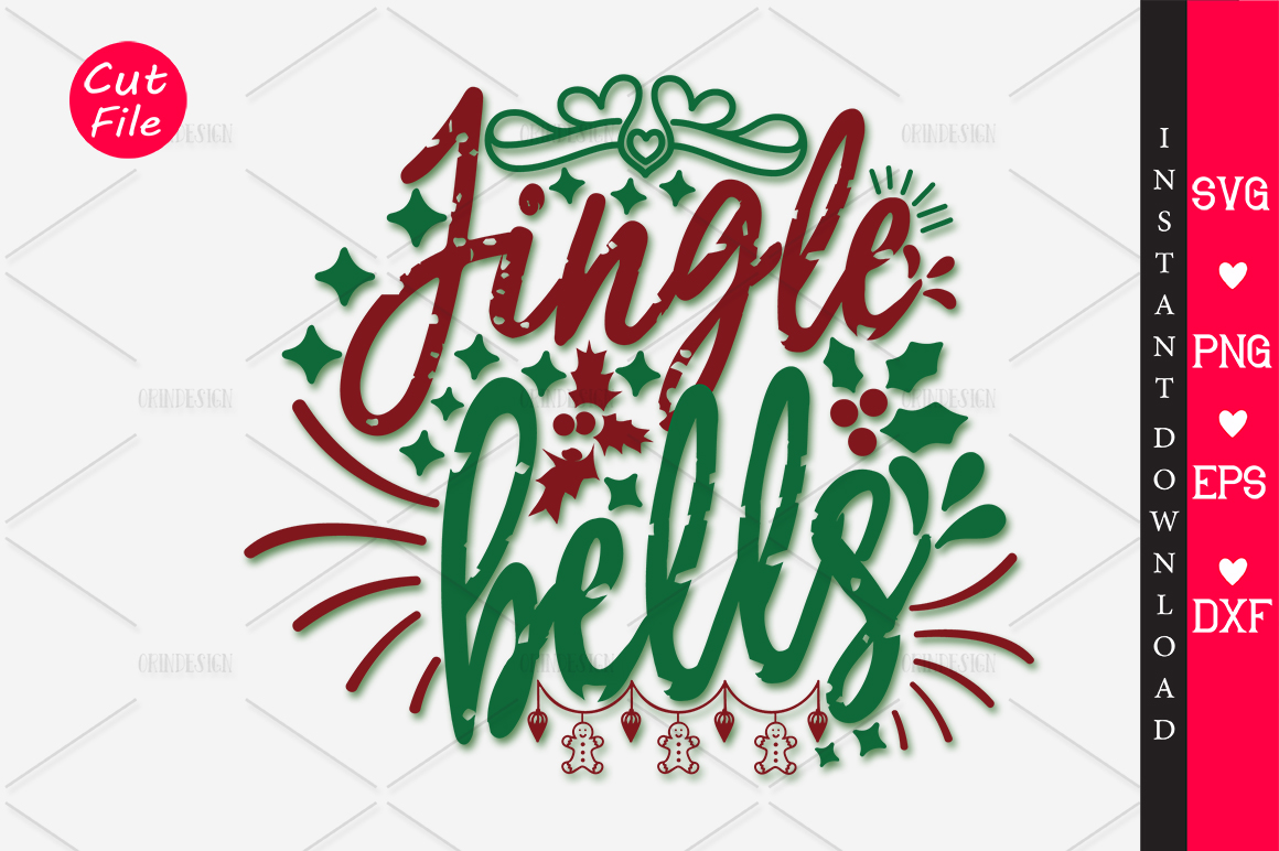 Download Free Jingle Bells Svg Graphic By Orindesign Creative Fabrica for Cricut Explore, Silhouette and other cutting machines.