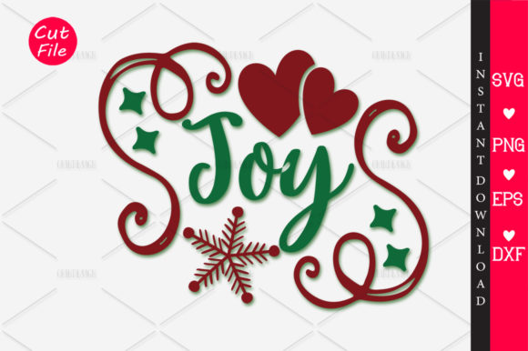 Download Free Joy Svg Graphic By Orindesign Creative Fabrica for Cricut Explore, Silhouette and other cutting machines.