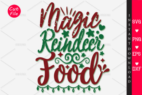 Download Free Magic Reindeer Food Svg Graphic By Orindesign Creative Fabrica for Cricut Explore, Silhouette and other cutting machines.