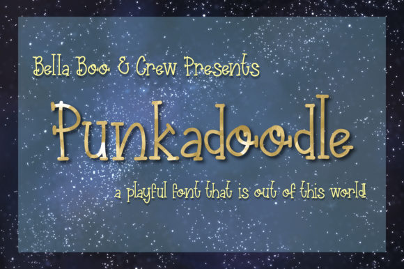 Print on Demand: Punkadoodle Serif Font By BellaBoo  - Image 1