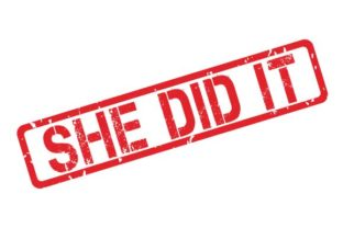 Download Free She Did It Rubber Stamp Stencil X Mas Graphic By Graphicsfarm for Cricut Explore, Silhouette and other cutting machines.