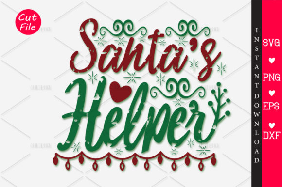 Download Free Santas Helper Svg Graphic By Orindesign Creative Fabrica for Cricut Explore, Silhouette and other cutting machines.