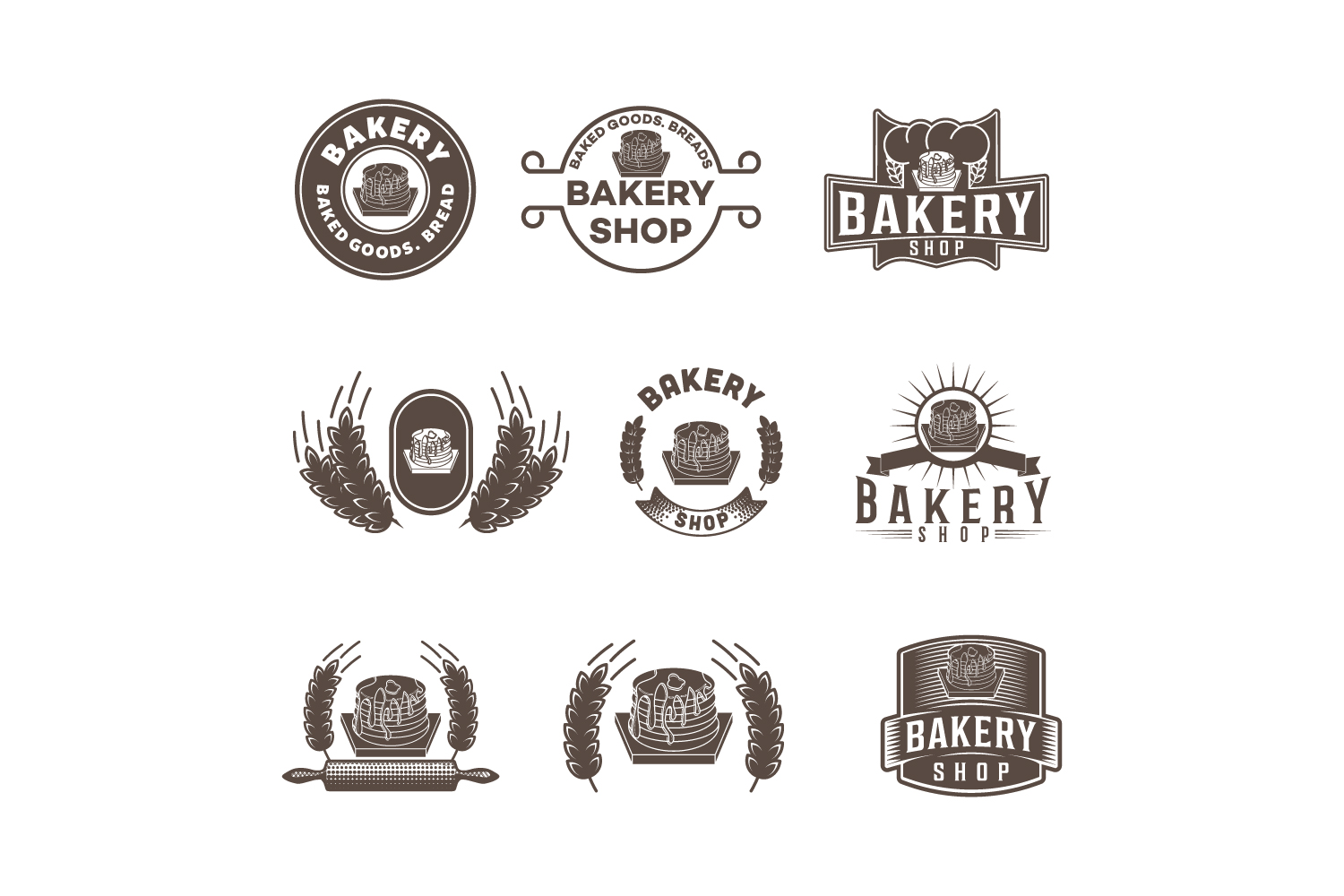 Download Free Logos Creative Fabrica for Cricut Explore, Silhouette and other cutting machines.