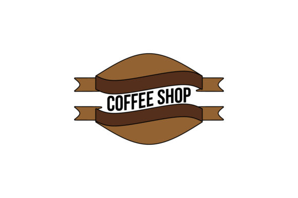 Download Free Vintage Coffee Shop Logo Graphic By Yahyaanasatokillah for Cricut Explore, Silhouette and other cutting machines.
