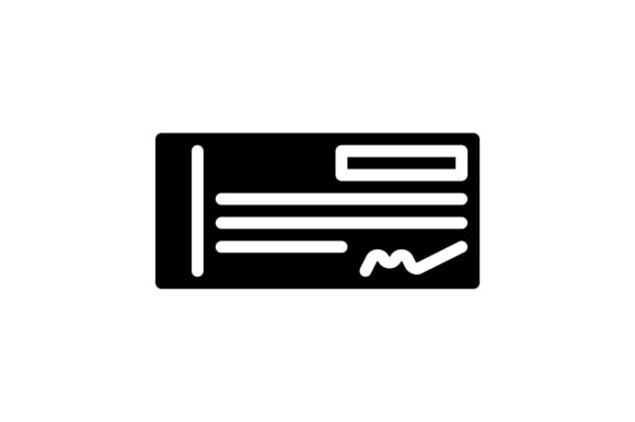 Print on Demand: Cheque Graphic Icons By khld939