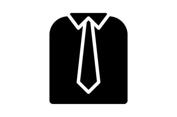 Print on Demand: Business Clothes Graphic Icons By khld939
