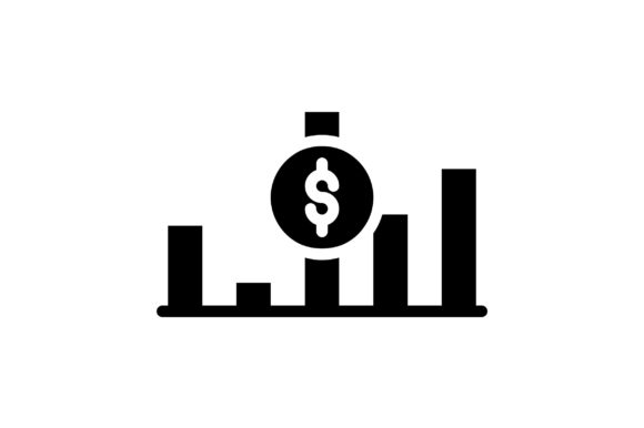 Print on Demand: Currency Graph Graphic Icons By khld939