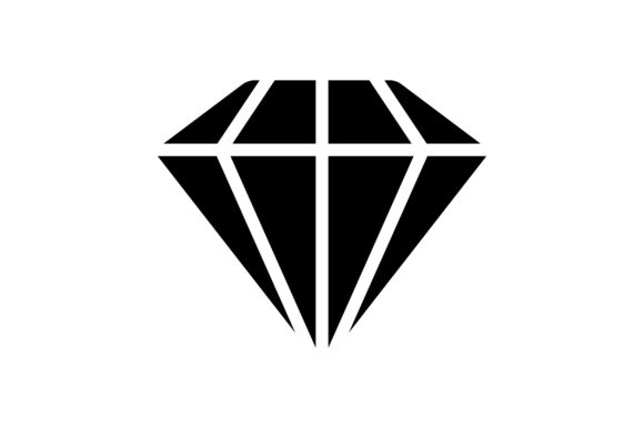 Print on Demand: Diamond Graphic Icons By khld939