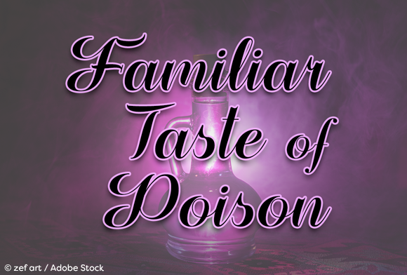Print on Demand: Familiar Taste of Poison Script & Handwritten Font By Misti