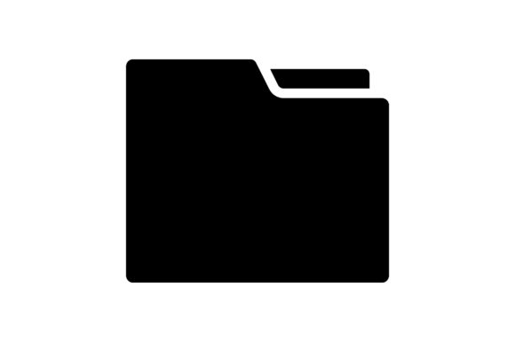 Print on Demand: Folder Graphic Icons By khld939