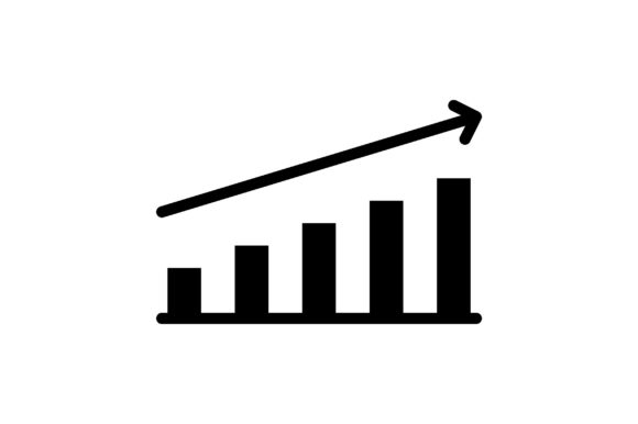 Print on Demand: Businzss Growth Graphic Icons By khld939 - Image 1