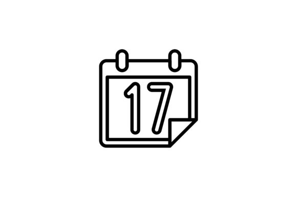 Download Free Calendar And Date Icon 17 Graphic By Martellucia Creative Fabrica for Cricut Explore, Silhouette and other cutting machines.