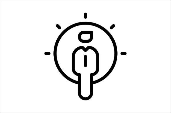 Print on Demand: Thought Graphic Icons By khld939 - Image 1