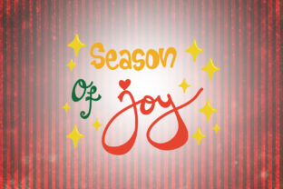 Download Free Season Of Joy Christmas Quotes Graphic By Wienscollection SVG Cut Files