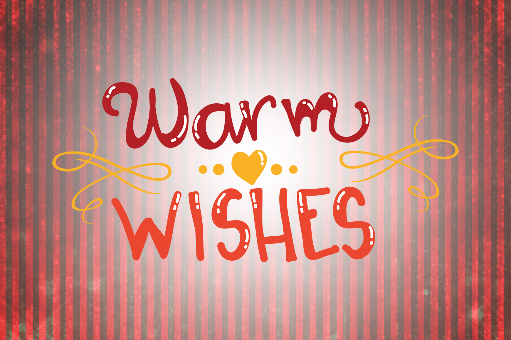 Download Free Warm Wishes Christmas Quotes Graphic By Wienscollection for Cricut Explore, Silhouette and other cutting machines.
