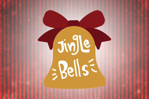 Download Free Jingle Bells Christmas Quotes Grafico Por Wienscollection SVG Cut Files