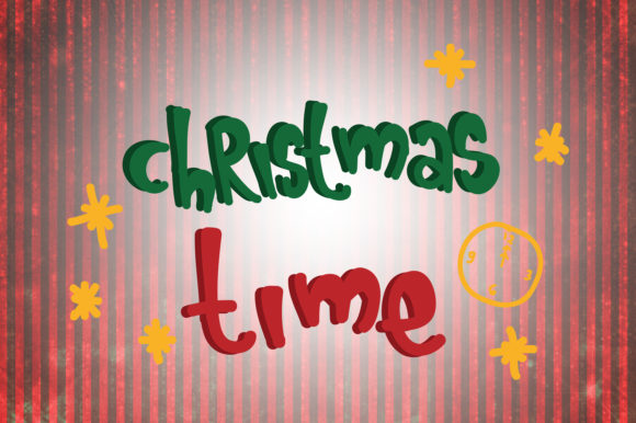 Download Free Christmas Time Quotes Graphic By Wienscollection Creative Fabrica for Cricut Explore, Silhouette and other cutting machines.