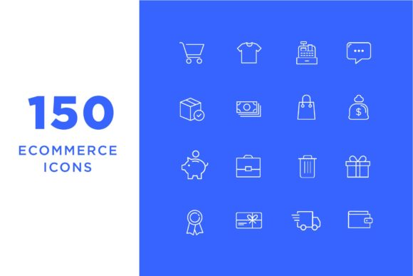 Ecommerce Icons Graphic Icons By Cassandra Cappello