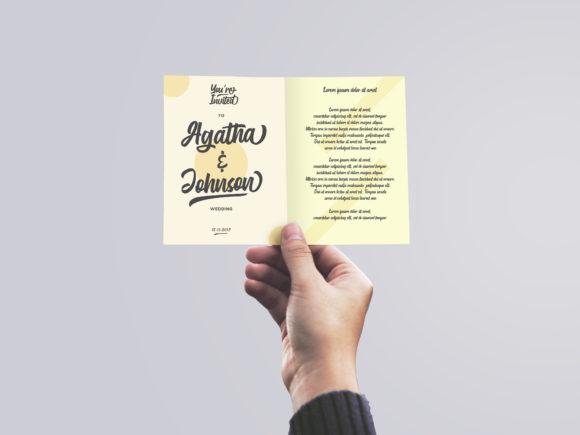 Print on Demand: Gluottine Script & Handwritten Font By EmbunStudio - Image 5
