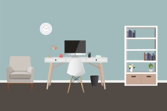Room Scene Creator Graphic Illustrations By Cassandra Cappello