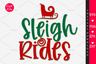 Download Free Sleigh Rides Graphic By Orindesign Creative Fabrica for Cricut Explore, Silhouette and other cutting machines.