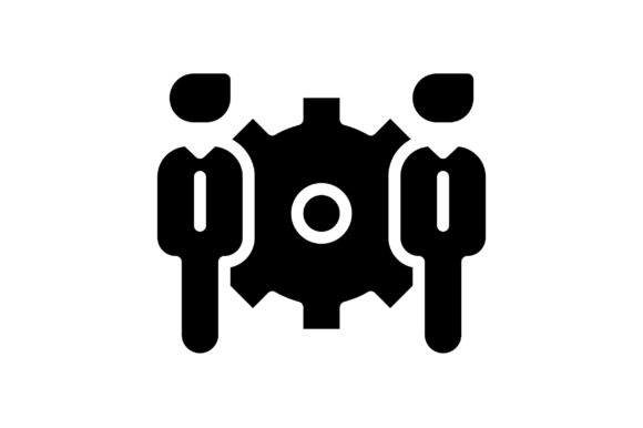 Print on Demand: Teamwork Graphic Icons By khld939