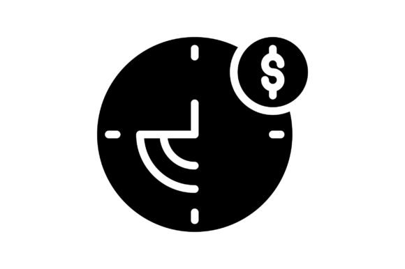 Print on Demand: Time is Money Graphic Icons By khld939
