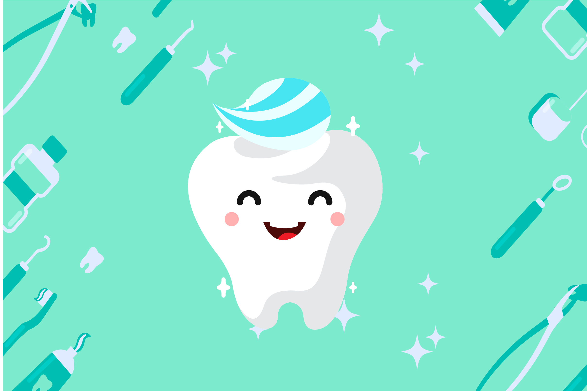 Download Free Healthy Tooth Graphic By Fatih Studio Creative Fabrica for Cricut Explore, Silhouette and other cutting machines.