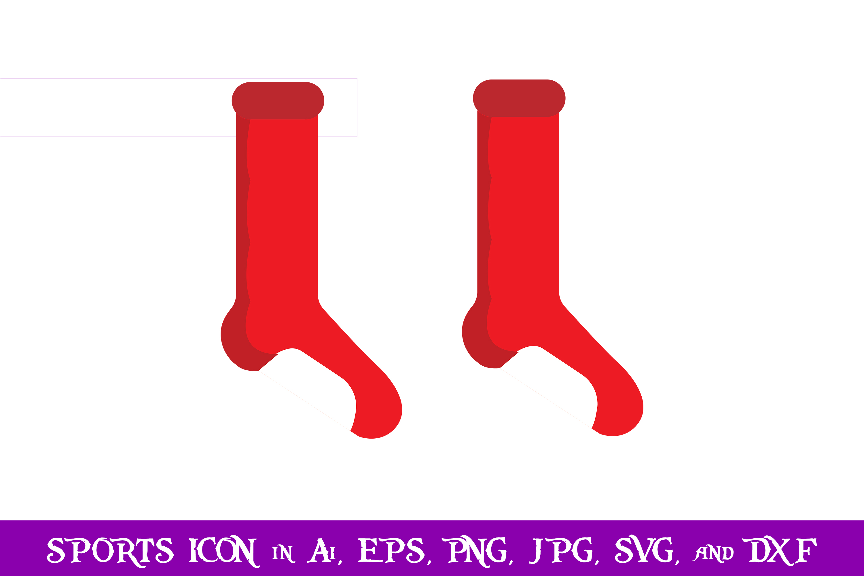 Download Free Socks Sport Icon Graphic By Purplespoonpirates Creative Fabrica for Cricut Explore, Silhouette and other cutting machines.
