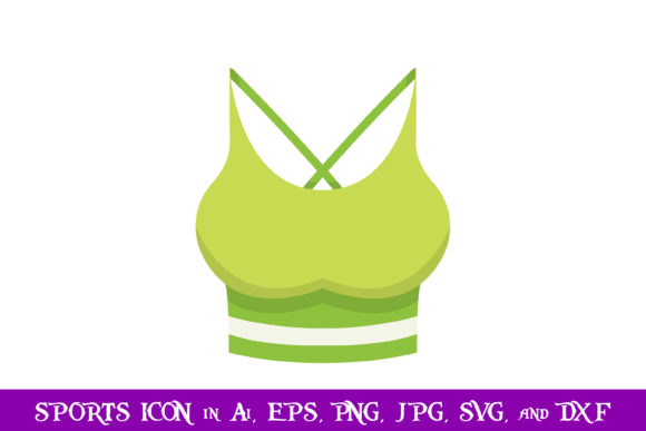 Download Free Women Singlet Sport Icon Graphic By Purplespoonpirates for Cricut Explore, Silhouette and other cutting machines.