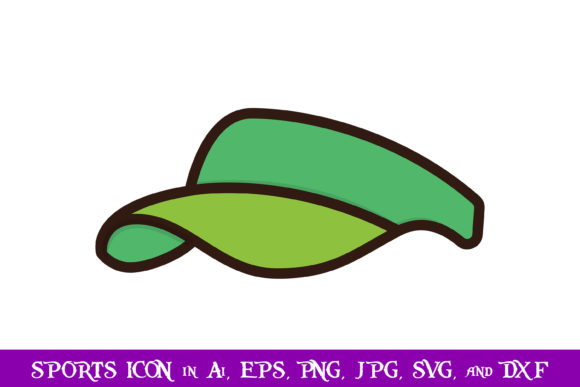 Download Free Hat Sport Icon Graphic By Purplespoonpirates Creative Fabrica for Cricut Explore, Silhouette and other cutting machines.