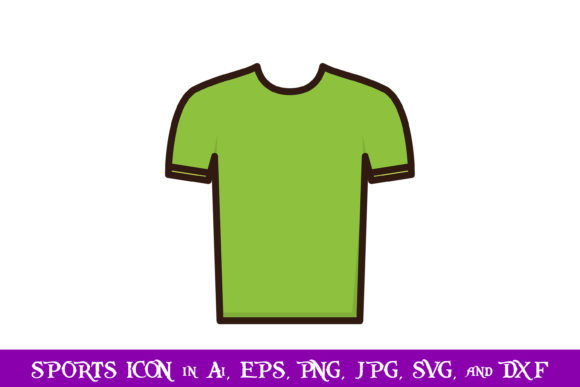 Download Free Ping Pong Shirt Sport Icon Graphic By Purplespoonpirates for Cricut Explore, Silhouette and other cutting machines.