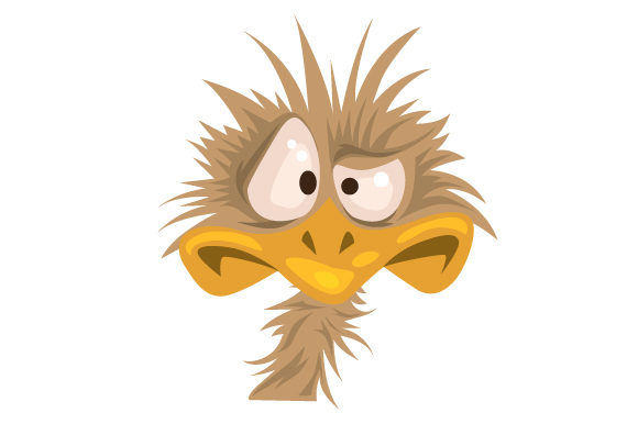 Download Free Funny Emu Face Svg Cut File By Creative Fabrica Crafts for Cricut Explore, Silhouette and other cutting machines.