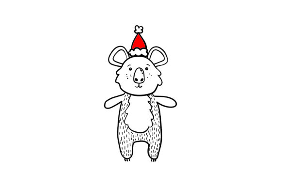 Download Free Christmas Koala Svg Cut File By Creative Fabrica Crafts for Cricut Explore, Silhouette and other cutting machines.