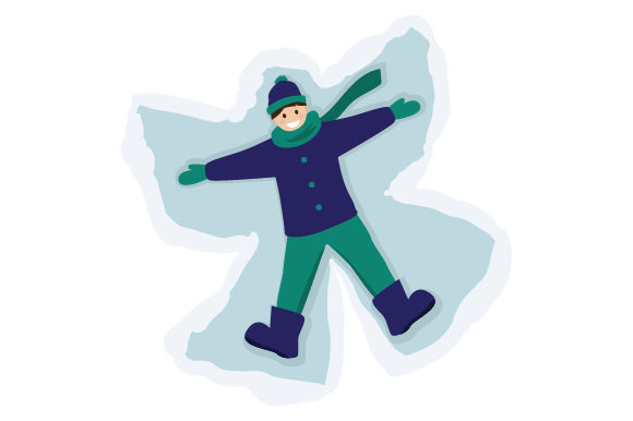 Download Free Boy Making Snowangel Svg Cut File By Creative Fabrica Crafts for Cricut Explore, Silhouette and other cutting machines.