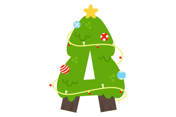 Download Free Christmas Letter A Svg Cut File By Creative Fabrica Crafts for Cricut Explore, Silhouette and other cutting machines.