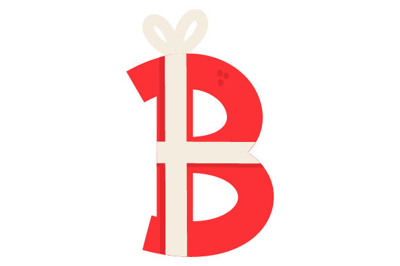 Christmas Letter B Christmas Craft Cut File By Creative Fabrica Crafts - Image 1