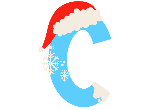Download Free Christmas Letter C Svg Cut File By Creative Fabrica Crafts for Cricut Explore, Silhouette and other cutting machines.