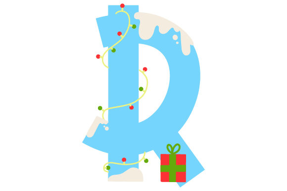 Download Free Christmas Letter R Svg Cut File By Creative Fabrica Crafts for Cricut Explore, Silhouette and other cutting machines.