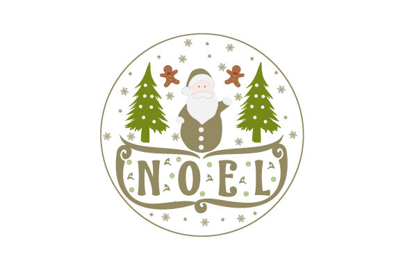Noel Weihnachten Craft Cut File von Creative Fabrica Crafts