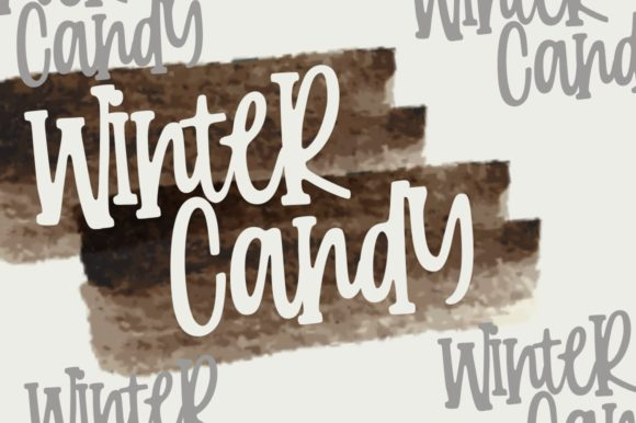 Print on Demand: Candy Clause Script & Handwritten Font By goodjavastudio - Image 2
