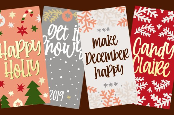 Print on Demand: Candy Clause Script & Handwritten Font By goodjavastudio - Image 3