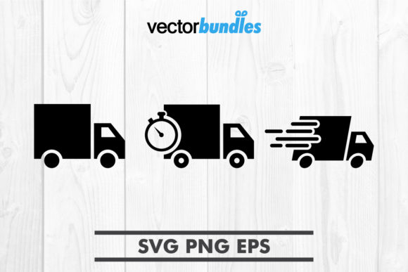 Download Free Delivery Truck Clip Art Svg Graphic By Vectorbundles Creative for Cricut Explore, Silhouette and other cutting machines.