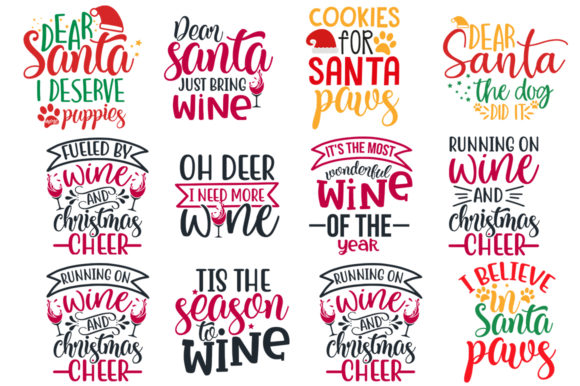 Download Free 55 Christmas Bundle Graphic By Designdealy Com Creative Fabrica SVG Cut Files