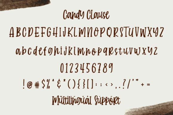 Print on Demand: Candy Clause Script & Handwritten Font By goodjavastudio - Image 8