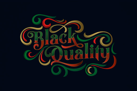 Print on Demand: Black Quality Blackletter Font By Alit Design - Image 1