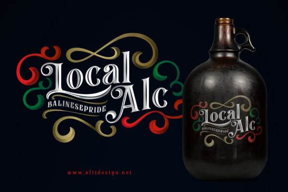 Print on Demand: Black Quality Blackletter Font By Alit Design - Image 3