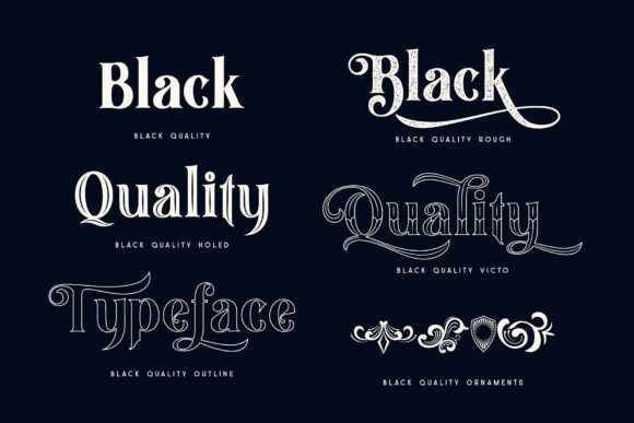 Print on Demand: Black Quality Blackletter Font By Alit Design - Image 8