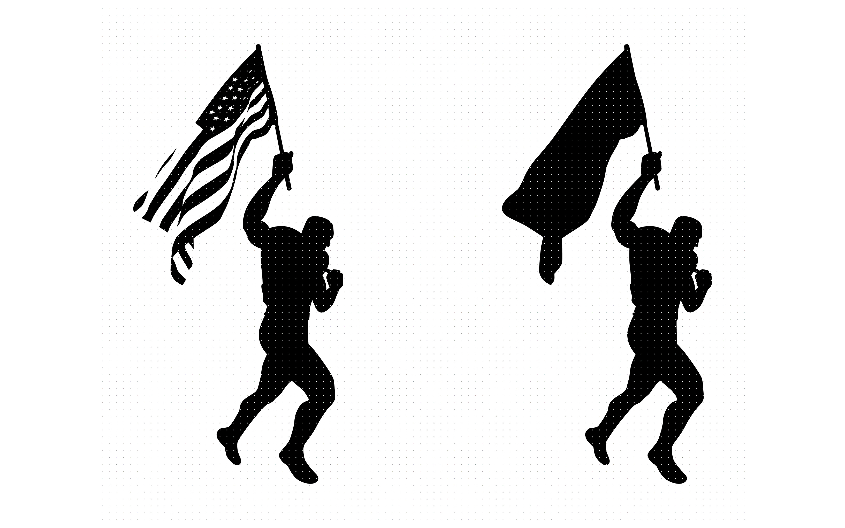 Man Waving The American Flag Graphic By Crafteroks Creative