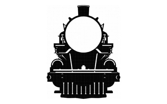 Download Free Vintage Steam Train Graphic By Crafteroks Creative Fabrica for Cricut Explore, Silhouette and other cutting machines.
